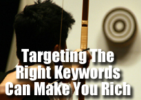 learn affiliate marketing - target the right keywords
