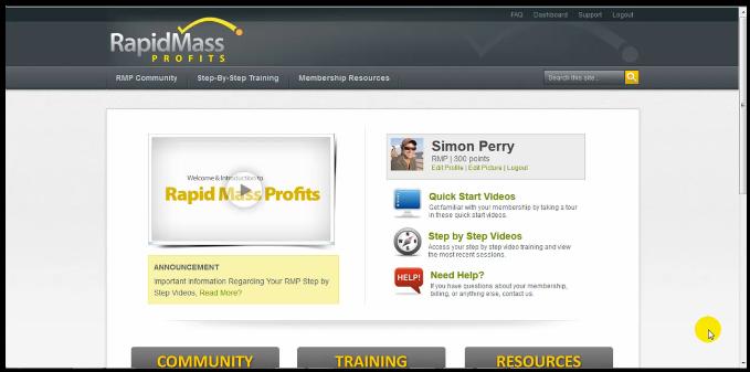 rapid mass profits scam review