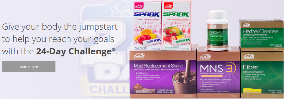 what advocare byproducts remote loss