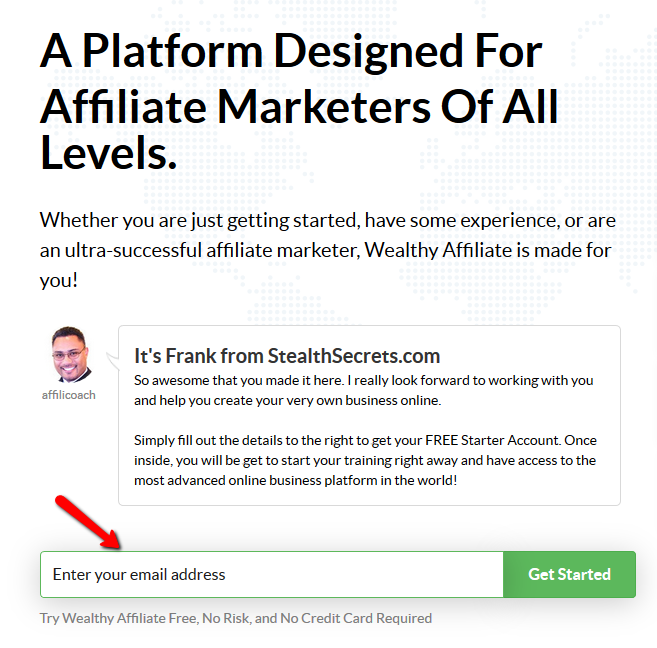 wealthy affiliate review : free sign up