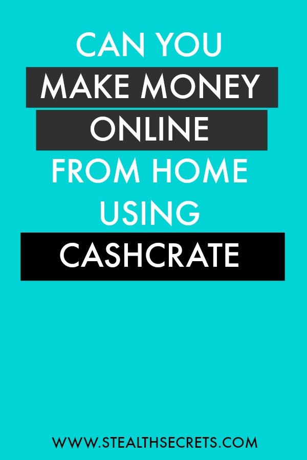 Can you make money with Cashcrate. Learn some of the best ways to make money from home. If you're looking for at home jobs no experience gig, then we have seen them all. We review the best work at home jobs that will enable you to earn extra money from home. Legitimate work from home jobs can be hard to find, but with our guidance, we show you how to make extra money at home. We give you fast money making ideas, extra income ideas on the best work from home jobs.