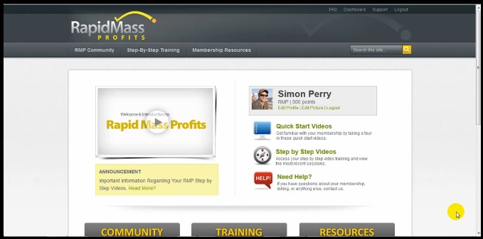 rapid mass profits scam review