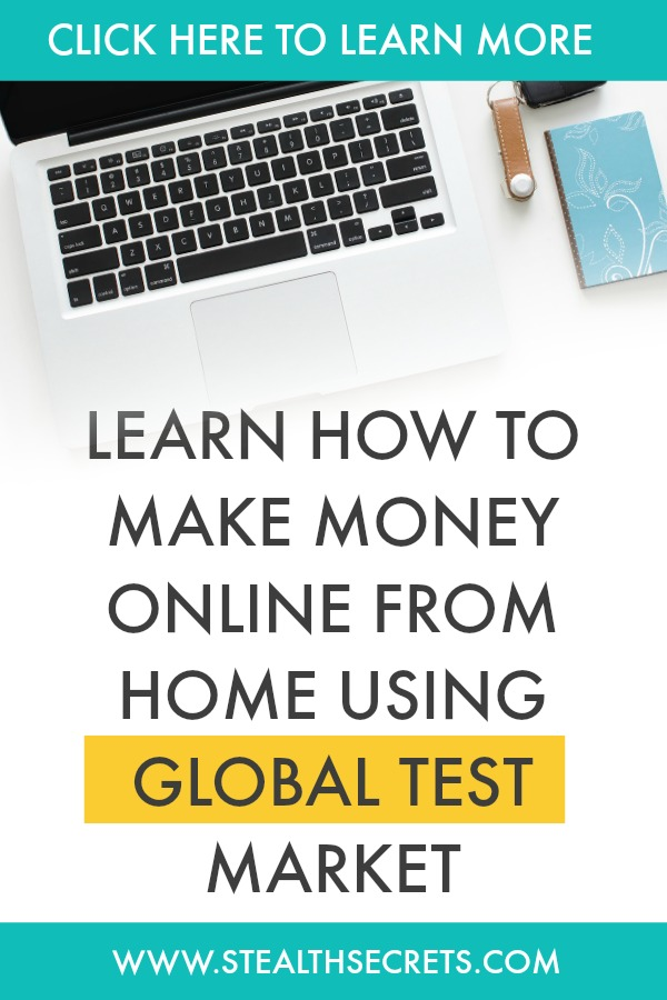 Can you make money with Global Test Market. Learn some of the best ways to make money from home. If you're looking for at home jobs no experience gig, then we have seen them all. We review the best work at home jobs that will enable you to earn extra money from home. Legitimate work from home jobs can be hard to find, but with our guidance, we show you how to make extra money at home. We give you fast money making ideas, extra income ideas on the best work from home jobs.