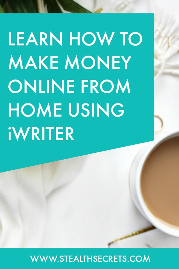 Can you make money with iWriter. Learn some of the best ways to make money from home. If you're looking for at home jobs no experience gig, then we have seen them all. We review the best work at home jobs that will enable you to earn extra money from home. Legitimate work from home jobs can be hard to find, but with our guidance, we show you how to make extra money at home. We give you fast money making ideas, extra income ideas on the best work from home jobs.