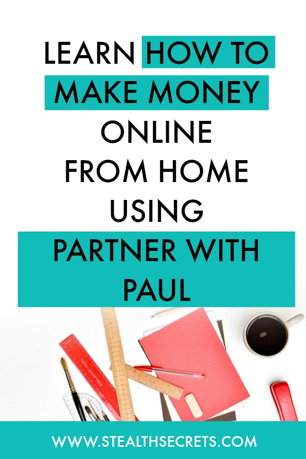 Can you make money with Partner With Paul. Learn some of the best ways to make money from home. If you're looking for at home jobs no experience gig, then we have seen them all. We review the best work at home jobs that will enable you to earn extra money from home. Legitimate work from home jobs can be hard to find, but with our guidance, we show you how to make extra money at home. We give you fast money making ideas, extra income ideas on the best work from home jobs.