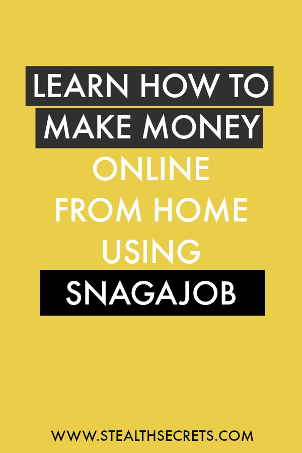 Can you make money with Snagajob. Learn some of the best ways to make money from home. If you're looking for at home jobs no experience gig, then we have seen them all. We review the best work at home jobs that will enable you to earn extra money from home. Legitimate work from home jobs can be hard to find, but with our guidance, we show you how to make extra money at home. We give you fast money making ideas, extra income ideas on the best work from home jobs.