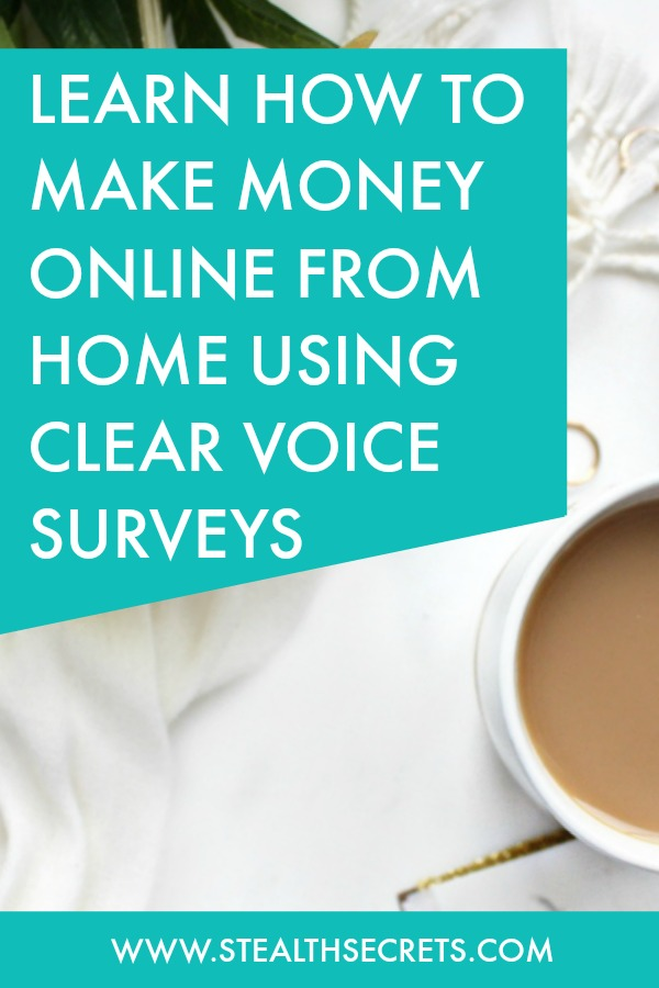 Can you make money with Clear Voice Surveys. Learn some of the best ways to make money from home. If you're looking for at home jobs no experience gig, then we have seen them all. We review the best work at home jobs that will enable you to earn extra money from home. Legitimate work from home jobs can be hard to find, but with our guidance, we show you how to make extra money at home. We give you fast money making ideas, extra income ideas on the best work from home jobs.