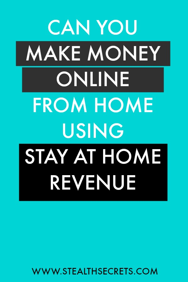 Can you make money with Stay At Home Revenue. Learn some of the best ways to make money from home. If you're looking for at home jobs no experience gig, then we have seen them all. We review the best work at home jobs that will enable you to earn extra money from home. Legitimate work from home jobs can be hard to find, but with our guidance, we show you how to make extra money at home. We give you fast money making ideas, extra income ideas on the best work from home jobs.