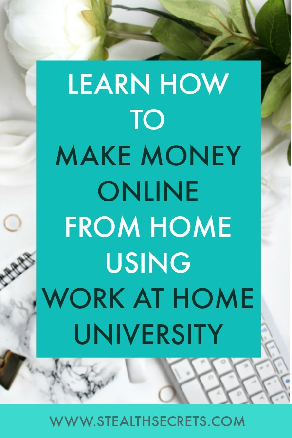 Can you make money with Work At Home University. Learn some of the best ways to make money from home. If you're looking for at home jobs no experience gig, then we have seen them all. We review the best work at home jobs that will enable you to earn extra money from home. Legitimate work from home jobs can be hard to find, but with our guidance, we show you how to make extra money at home. We give you fast money making ideas, extra income ideas on the best work from home jobs.