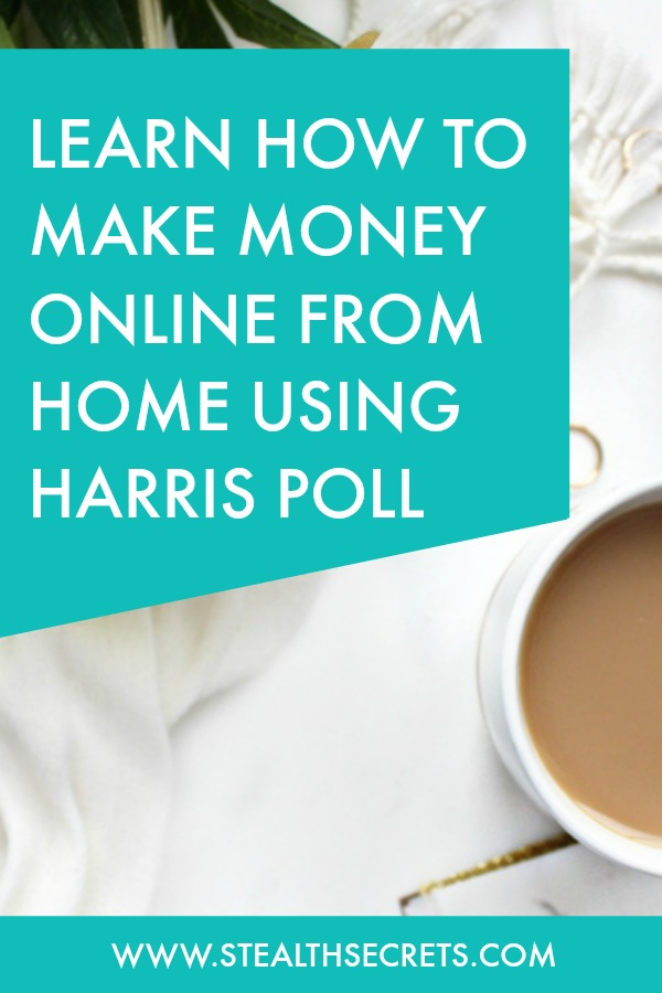 Can you make money with Harris Poll Online. Learn some of the best ways to make money from home. If you're looking for at home jobs no experience gig, then we have seen them all. We review the best work at home jobs that will enable you to earn extra money from home. Legitimate work from home jobs can be hard to find, but with our guidance, we show you how to make extra money at home. We give you fast money making ideas, extra income ideas on the best work from home jobs.