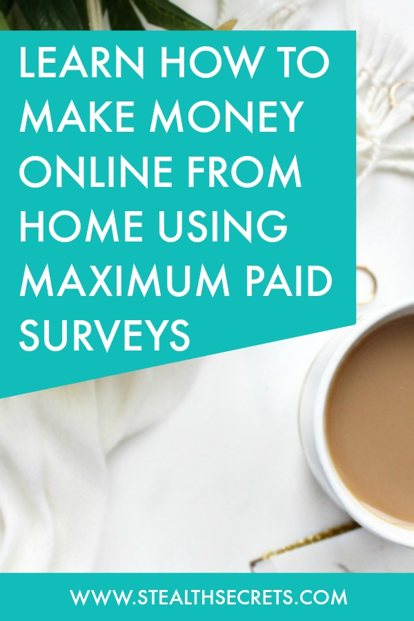 Can you make money with Maximum Paid Surveys. Learn some of the best ways to make money from home. If you're looking for at home jobs no experience gig, then we have seen them all. We review the best work at home jobs that will enable you to earn extra money from home. Legitimate work from home jobs can be hard to find, but with our guidance, we show you how to make extra money at home. We give you fast money making ideas, extra income ideas on the best work from home jobs.