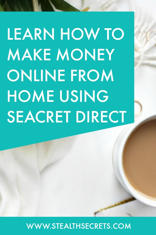 Can you make money with Seacret Direct. Learn some of the best ways to make money from home. If you're looking for at home jobs no experience gig, then we have seen them all. We review the best work at home jobs that will enable you to earn extra money from home. Legitimate work from home jobs can be hard to find, but with our guidance, we show you how to make extra money at home. We give you fast money making ideas, extra income ideas on the best work from home jobs.