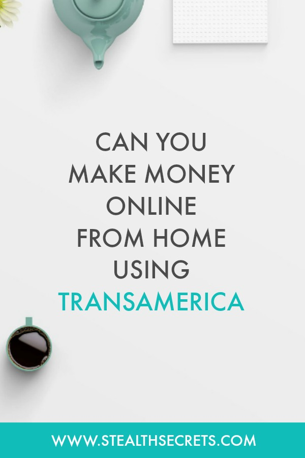 Can you make money with Transamerica. Learn some of the best ways to make money from home. If you're looking for at home jobs no experience gig, then we have seen them all. We review the best work at home jobs that will enable you to earn extra money from home. Legitimate work from home jobs can be hard to find, but with our guidance, we show you how to make extra money at home. We give you fast money making ideas, extra income ideas on the best work from home jobs.