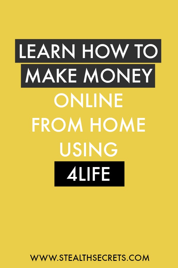Can you make money with 4Life. Learn some of the best ways to make money from home. If you're looking for at home jobs no experience gig, then we have seen them all. We review the best work at home jobs that will enable you to earn extra money from home. Legitimate work from home jobs can be hard to find, but with our guidance, we show you how to make extra money at home. We give you fast money making ideas, extra income ideas on the best work from home jobs.