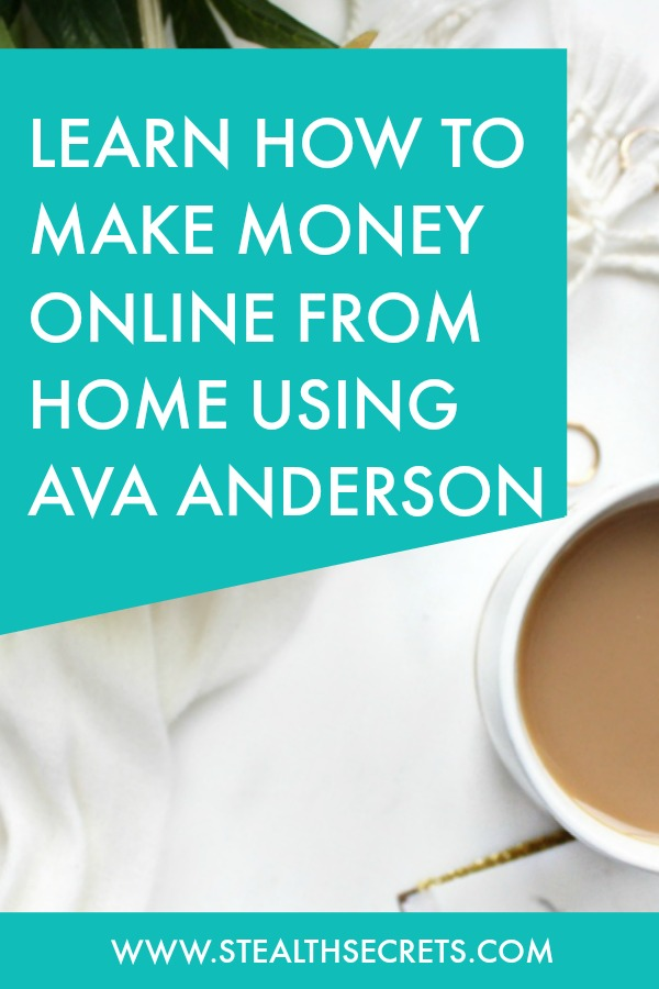 Can you make money with Ava Andersons. Learn some of the best ways to make money from home. If you're looking for at home jobs no experience gig, then we have seen them all. We review the best work at home jobs that will enable you to earn extra money from home. Legitimate work from home jobs can be hard to find, but with our guidance, we show you how to make extra money at home. We give you fast money making ideas, extra income ideas on the best work from home jobs.