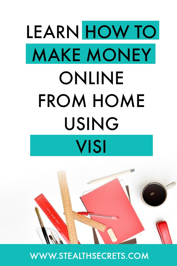 Can you make money with Visi. Learn some of the best ways to make money from home. If you're looking for at home jobs no experience gig, then we have seen them all. We review the best work at home jobs that will enable you to earn extra money from home. Legitimate work from home jobs can be hard to find, but with our guidance, we show you how to make extra money at home. We give you fast money making ideas, extra income ideas on the best work from home jobs.
