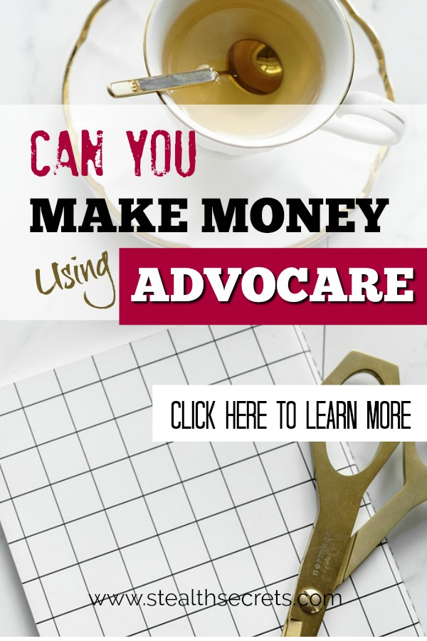 Can you make money with Advocare. Learn some of the best ways to make money from home. If you're looking for at home jobs no experience gig, then we have seen them all. We review the best work at home jobs that will enable you to earn extra money from home. Legitimate work from home jobs can be hard to find, but with our guidance, we show you how to make extra money at home. We give you fast money making ideas, extra income ideas on the best work from home jobs.