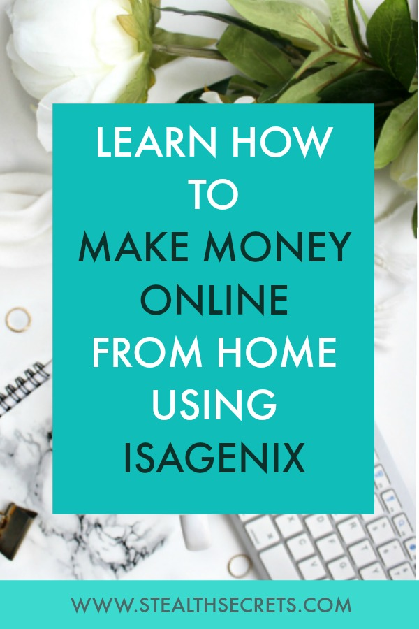 Learn how to make money online from home using isagenix. Is this a legit way to make money from home? Click here to learn more.