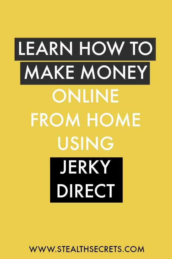 Learn how to make money online from home using jerky direct. Is this a legit way to make money from home? Click here to learn more.
