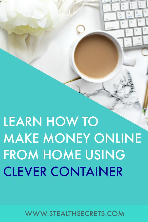 Learn how to make money online from home using clever container. Is this a legit way to make money from home? Click here to learn more.