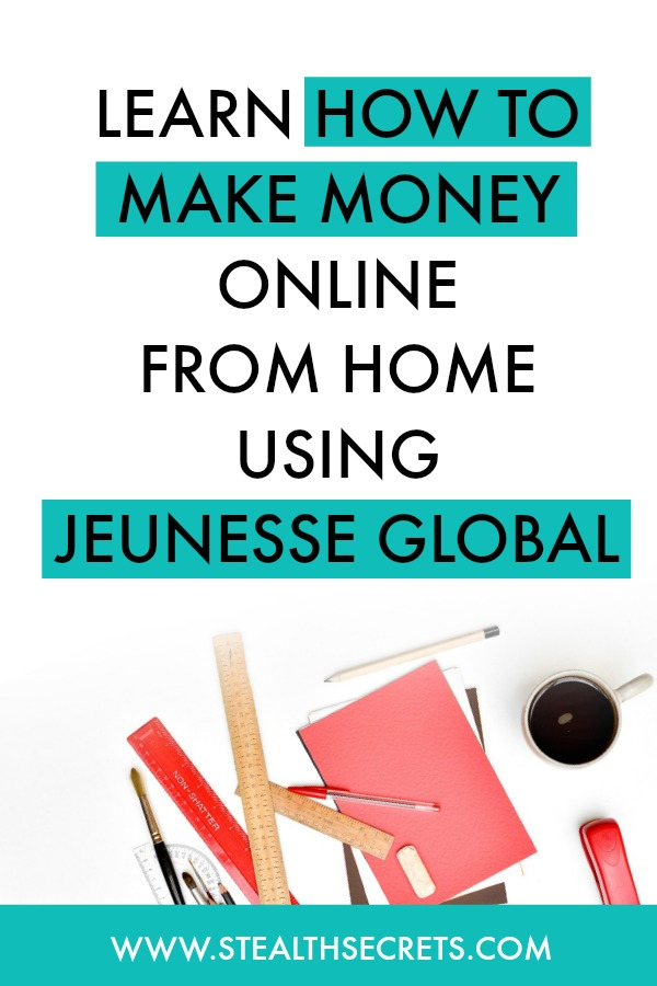 Learn how to make money online from home using jeunesse global. Is this a legit way to make money from home? Click here to learn more.