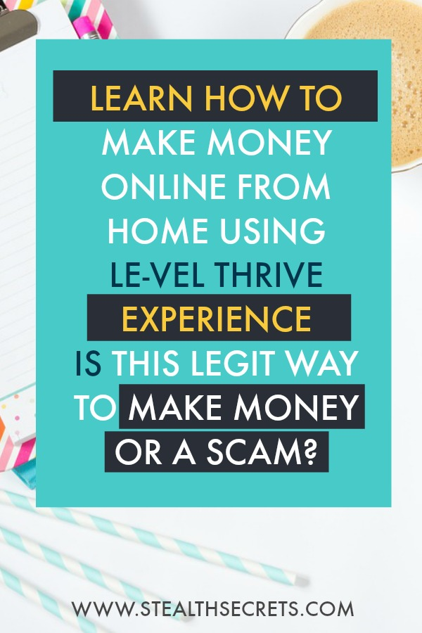Le Vel Thrive Experience Review Legit Or 8 Week Scam Stealth