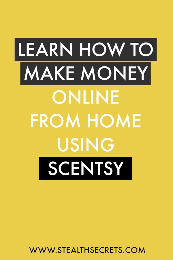 Learn how to make money online from home using scentsy. Is this a legit way to make money from home? Click here to learn more.