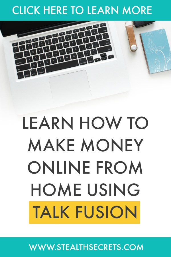 Learn how to make money online from home using talk fusion. Is this a legit way to make money from home? Click here to learn more.
