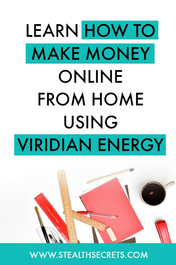 Learn how to make money online from home using viridian energy. Is this a legit way to make money from home? Click here to learn more.