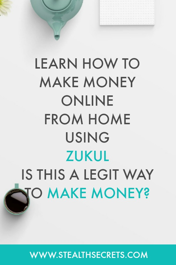 Learn how to make money online from home using zukul. Is this a legit way to make money from home? Click here to learn more.