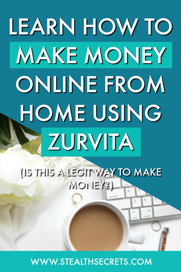 Learn how to make money online from home using zurvita. Is this a legit way to make money from home? Click here to learn more.