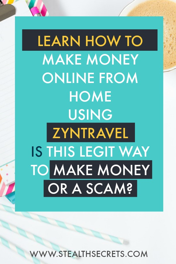 Learn how to make money online from home using zyntravel. Is this a legit way to make money from home? Click here to learn more.