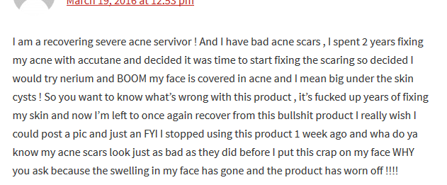 Nerium Negative Product Review