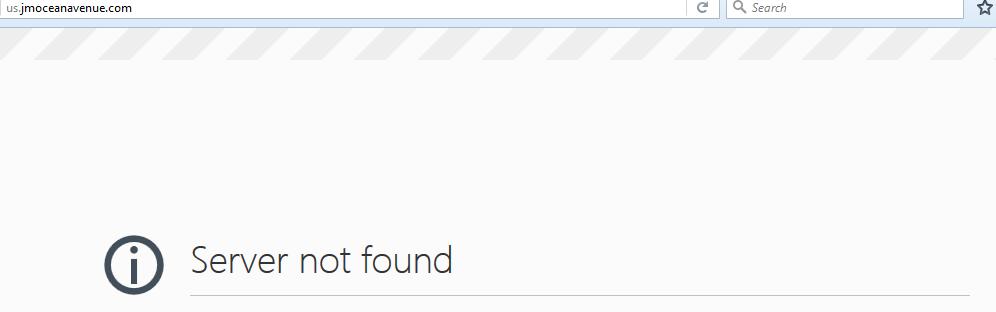 ocean_server_not_found