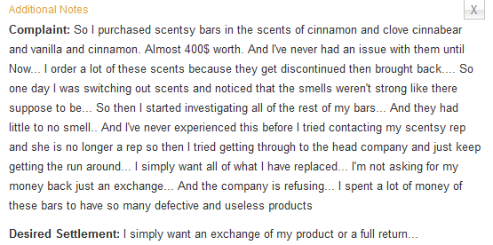 Scentsy Negative Reviews