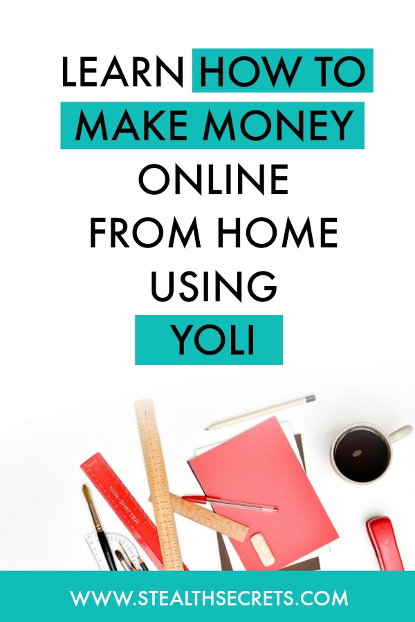 Learn how to make money online from home using yoli . Is this a legit way to make money from home? Click here to learn more.