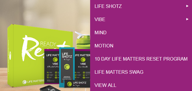 Lifematters Products Review