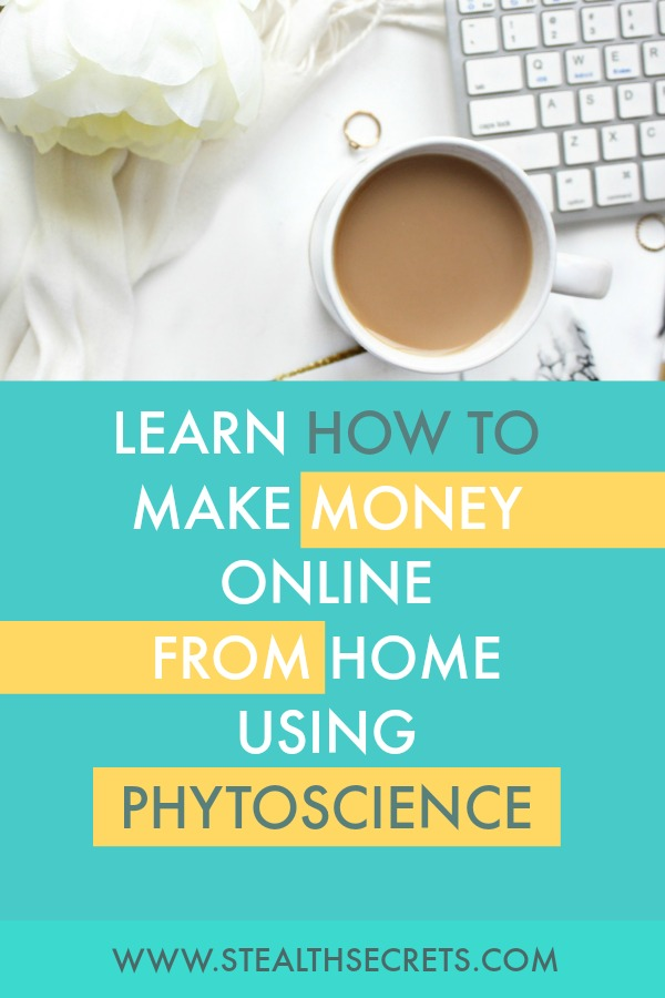 Learn how to make money online from home using phytoscience. Is this a legit way to make money from home? Click here to learn more.