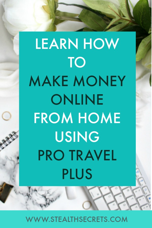 Learn how to make money online from home using pro travel plus. Is this a legit way to make money from home? Click here to learn more.