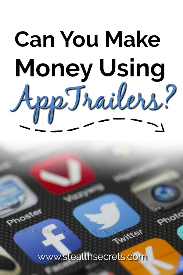 Can you really make money using AppTrailers? The AppTrailer is a mobile app advertising platform that will reward you in points for watching short videos on the website. The points you earn can then be redeemed for rewards, like gift cards and cash.