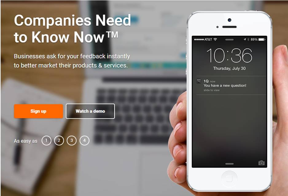 1Q com Review: Does It Really Pay People To Answer Questions