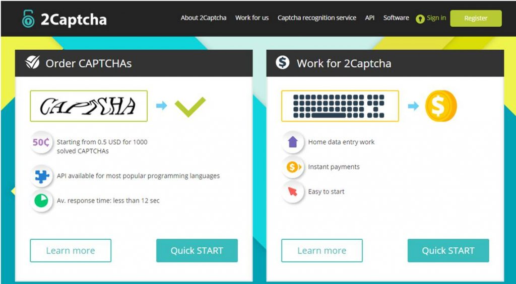 captcha earning jobs