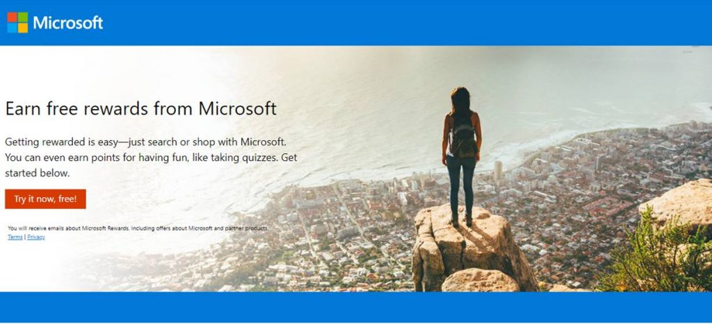 microsoft rewards spin to win