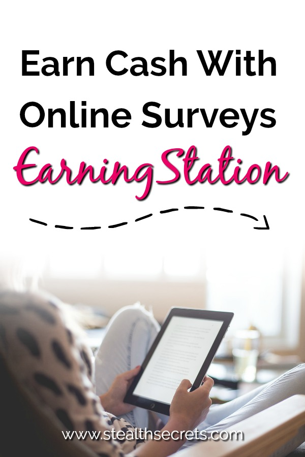 Did you know you could earn extra income making money with online surveys? At EarningStation you get paid for your opiion. Simply fillout for surveys that pay money. Online surveys can be a great way to make money from home.