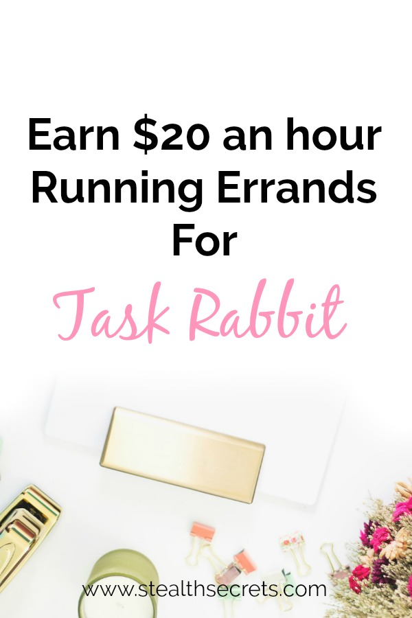 Did you know that you can earn $20 per hour running errands for TaskRabbit? This could be a good way to earn some extra income from home. It is a legitimate job opportunity.