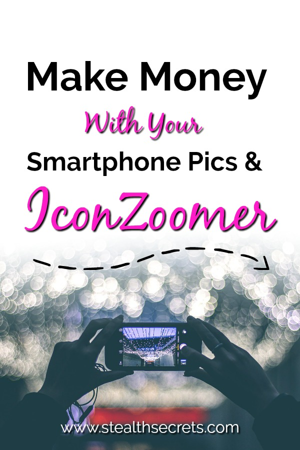 Looking to earn extra income from home? Here's an easy way to make money fast. Make money with your own photography using your smart phone and IconZoomer. Could be a great way to make extra cash.