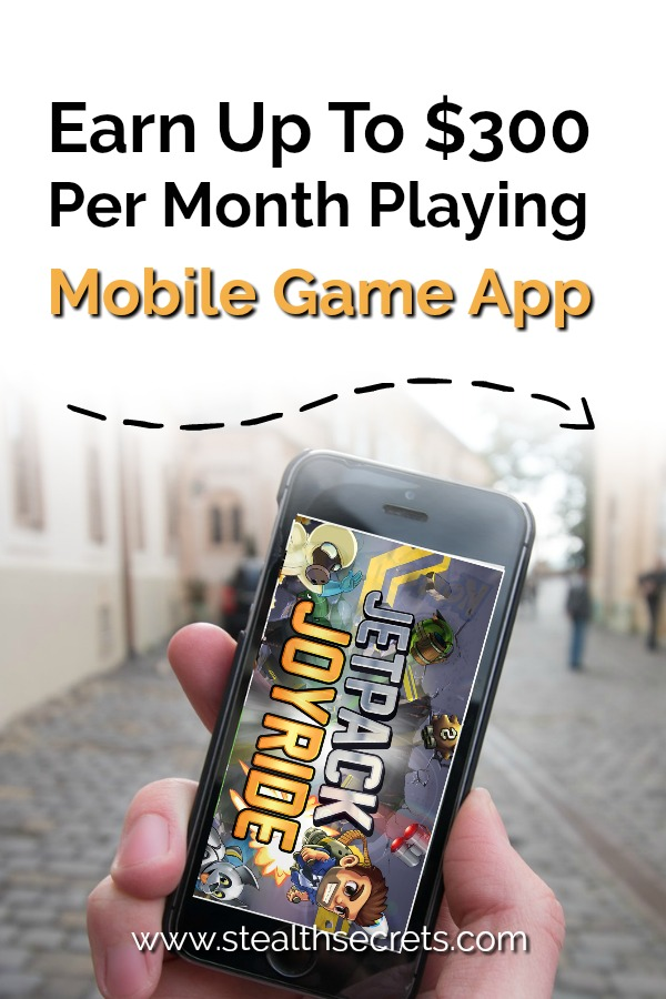 Earn up to $3000 per month playing mobile game app. Jetpack Journey will allow you to make money on your phone. Jetpack Journey is a mobile game app that is developed by the rewards program company called Perk. It is designed to give you rewards daily, as long as you are one of the top three players by the end of the day.