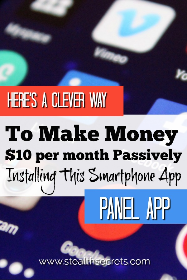 Did you know that you can make money passively using the Panel App? Learn how you can earn up tot $10 a month simplying by installing this simple app.