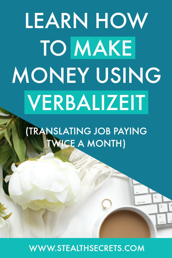 Learn how to make money using VerbalizeIt. Here's a legit Translating Job that pays you twice a month. Click here to learn more.