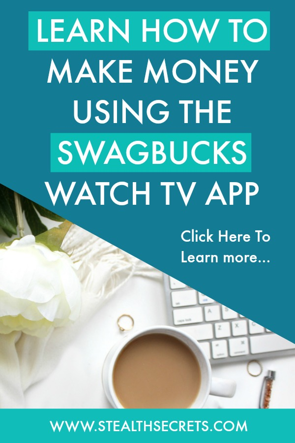 Learn how to make money using the Sagbucks Watch Tv App. Click here to learn more.